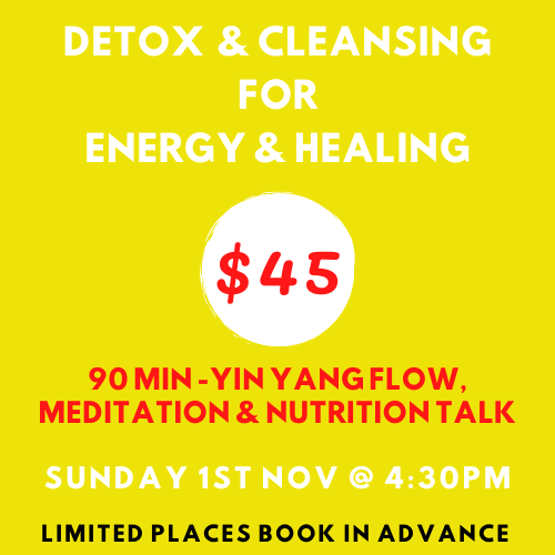 DETOX & CLEANSING FOR ENERGY & HEALING