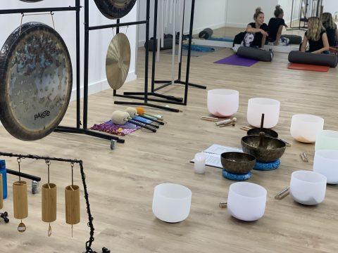 gong sound healing meditation