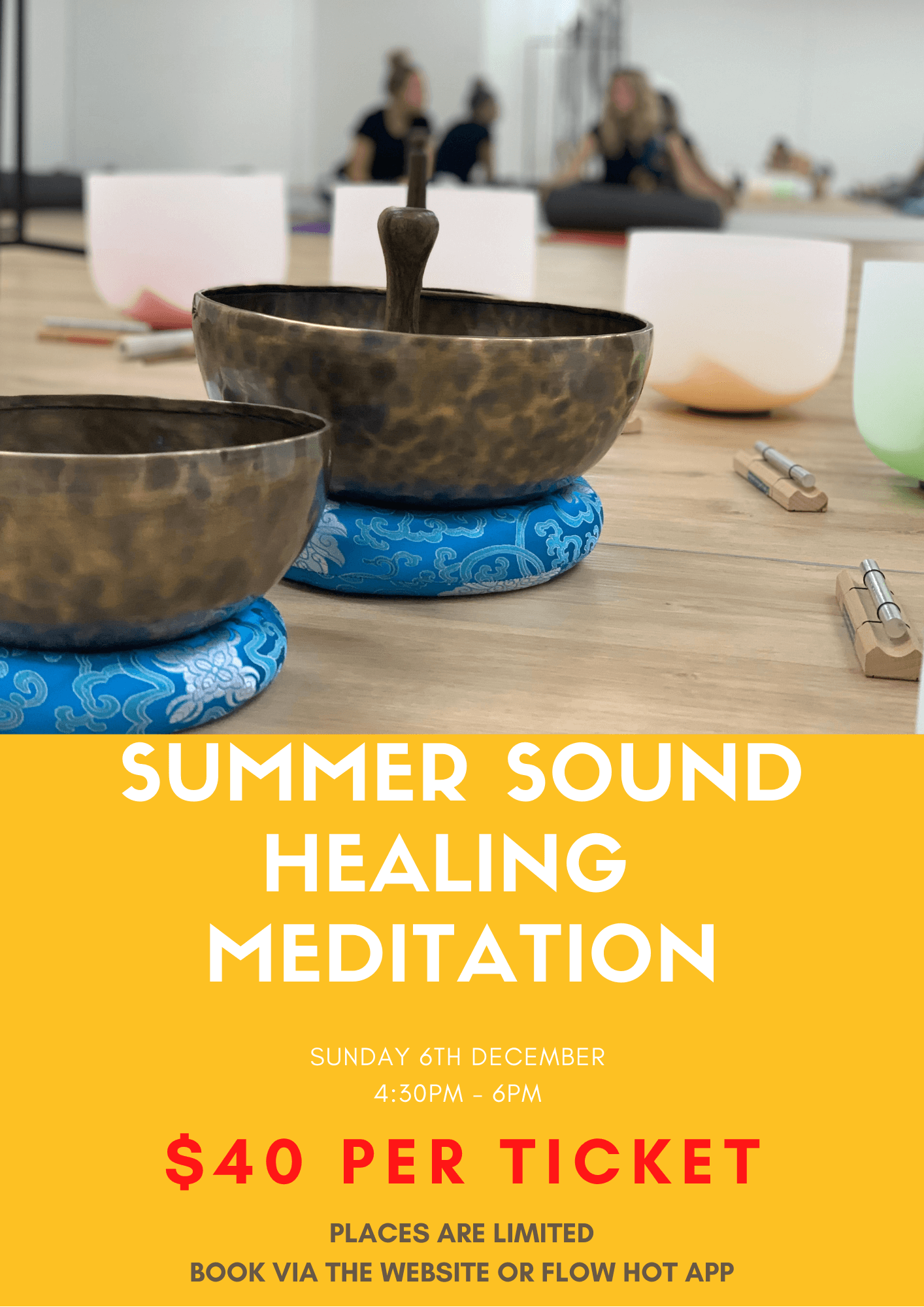 Summer Sound Healing Meditation – Fire Element